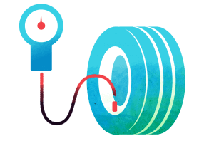 FleetGO dæktryksmåling icon