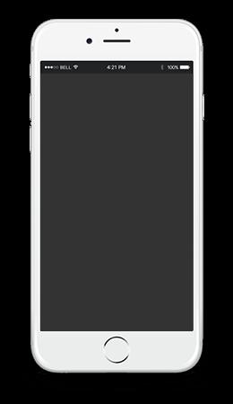 FleetGO app on Iphone